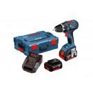 Bosch Skruvdragare GSR 18V-LI DY 4,0Ah 2 Batterier