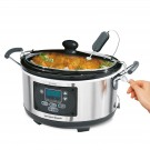 Slow Cooker 4,7L Set 'n Forget Programmerbar Hamilton Beach