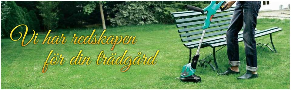 Köp dina trädgårdsredskap hos oss!
