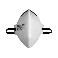 Andningsskydd Filt Halvmask 1202 FFP2 3-Pack Zekler