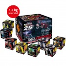 Soul Crushers 8-pack Fyrverkerisats
