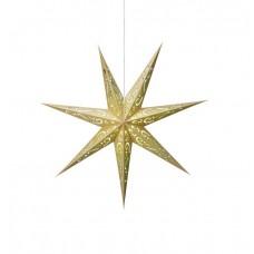 Stjärna Elin 75cm Guld/Grön