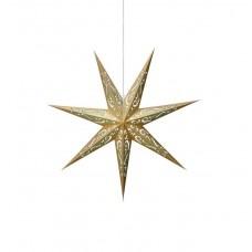 Stjärna Elin 75cm Blå/Guld
