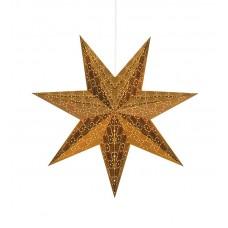 Stjärna Tostared 45cm Koppar