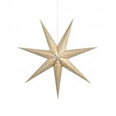 Stjärna Augusta Guld 75cm
