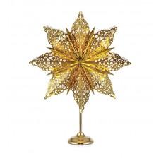Bordsstjärna Märta Guld 62cm