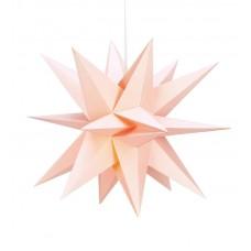 Stjärna Skillinge 3D Rosa