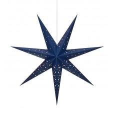Stjärna Solvalla 75cm Mörkblå