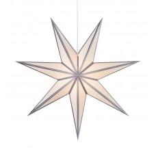 Stjärna Adele 75cm Vit / Silver