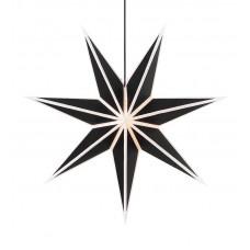 Stjärna Adele 75cm Vit / Svart