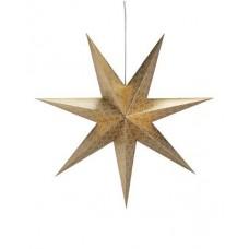 Pappstjärna Tostared Guld 75cm