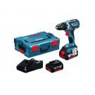 Bosch Skruvdragare GSR 18V-EC 5,0Ah 2 Batterier