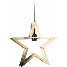 Stjärna Starling Mässing