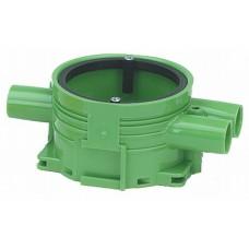 Apparatdosa Grön 13mm Enkelgips