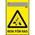Isidor Flagga Risk För Ras